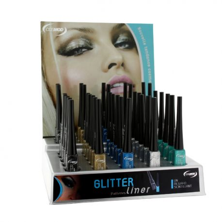 Présentoir Mixte de couleurs : Eye-liner Glitter