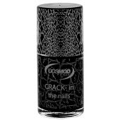 VERNIS CRACK-IN THE NAILS COSMOD BLACK N