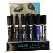 Display Mixed colors: color lash Mascara