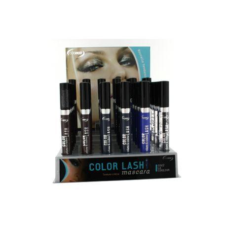 Présentoir Mixte de couleurs : Mascara color lash