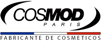 Logo cosmod Paris Portugues